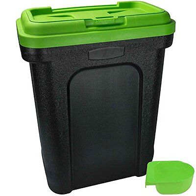 Pet Food Container Storage Cat Dog Dried Dry Food Bird Seed Box with Scoop