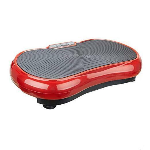Fitness Vibration Platform - Whole Body Vibration Machine Crazy Fit Red