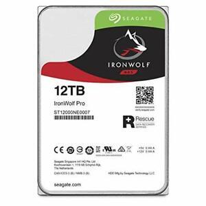 Pair of NIB 12tb IronWolf Pro hard drives