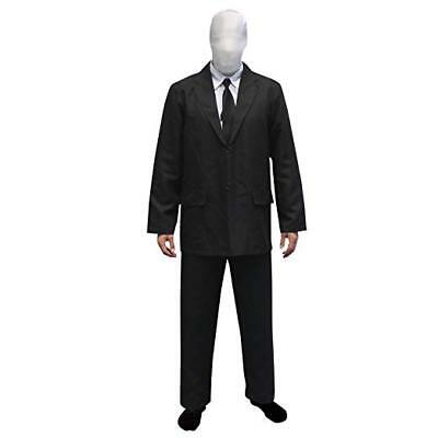 Morphsuits Halloween Costume Size Large Black and White - Slenderman Morphsuits
