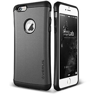 iPhone 6 / 6S Case, Verus [Thor][Charcoal Black] - [Military Grade Drop Protection][Natural Grip] New - Neuf