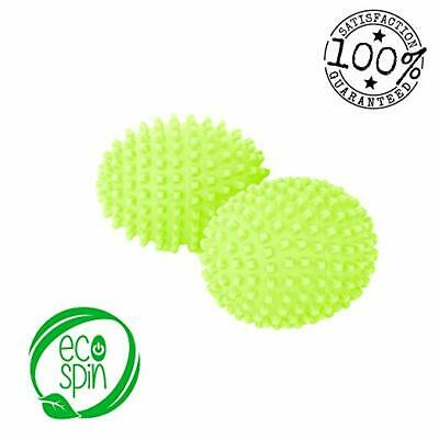 DRYER BALLS by ECO SPIN Green Best Eco-Friendly Alternative for Natural Organic