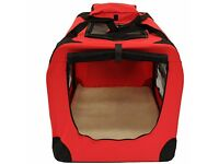 *NEW* Lightweight Fabric Pet Carrier Crate -Large