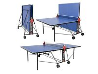 Outdoor Table Tennis Table with protective cover, bats and ball