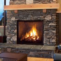 Fireplace 13% off installation 13% off
