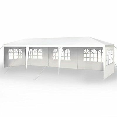 New 10'x30′ Party Wedding Outdoor Patio Tent Canopy Heavy duty Gazebo Pavilion 5 Garden Structures & Shade