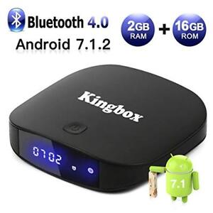 BRAND NEW ANDROID 7.1 BOX+NEW 3 COLOUR KEYBOARD MOUSE COMBO NEW