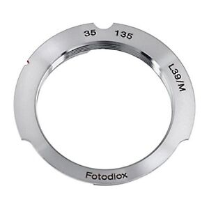 Fotodiox Lens Mount Adapter, M39 (39MM x1 Thread, Leica Screw Mo