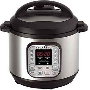 Instant Pot Duo 6 qt electric pressure cooker