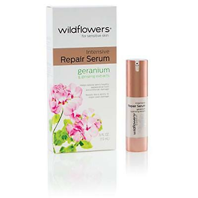 Wildflowers Intensive Repair Serum Geranium Ginseng Extracts for Sensitive - Intensive Skin Repair Serum