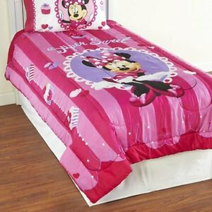 Super Sweet Minnie Mouse Twin Ensemble & Curtains Wall stickers
