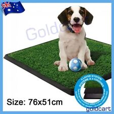 Large Indoor Pet Potty Zoom Park Training Portable Toilet Loo Pad with Tray