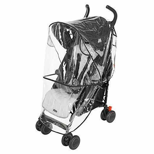 Maclaren Universal Stroller Rain Cover Free S/H