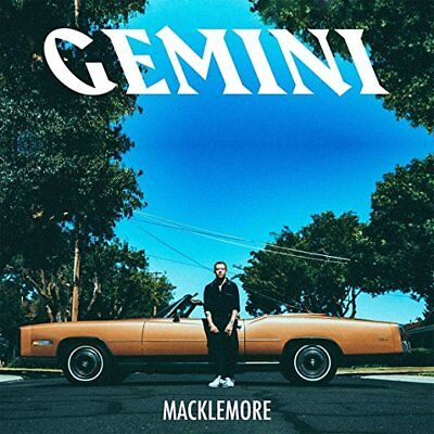 Macklemore Cd   Gemini  Explicit  2017    New Unopened   Rap
