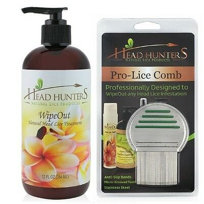 Professional Lice Treatment Kit - Includes High Quality Nit Comb
