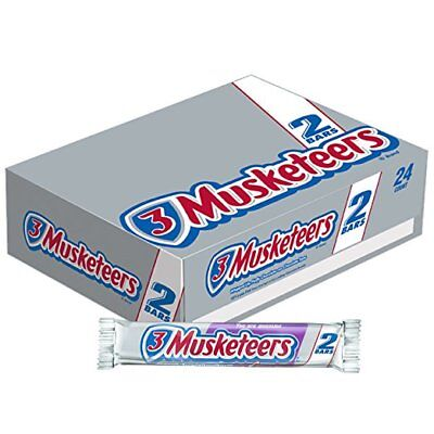 3 Musketeers Chocolate Candy Bar (3 MUSKETEERS Chocolate Sharing Size Candy Bars 3.28-Ounce Bar )