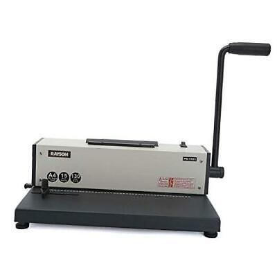 Pd-1501 Coil Binding Machine With Electric Coil Inserter