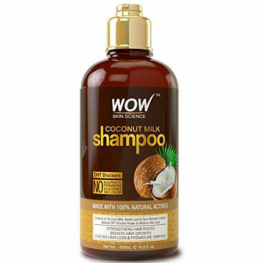 WOW Coconut Milk Shampoo - Hair Growth Treatment Products fo