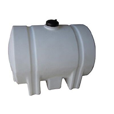 New Romotech 125 Gallon Plastic Storage Tank - Round With Leg Supports