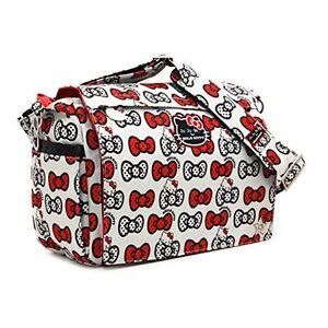 Ju-Ju-Be Hello Kitty Collection Better Be Messenger Diaper Bag, Peek A e9461e403c
