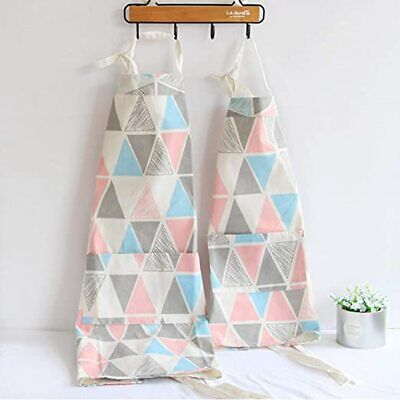 Cotton Parent and Child Apron, Creative Artist Apron with Pockets Great Helper