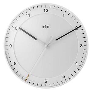 WANTED: Braun Wall Clock in white