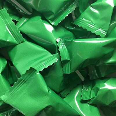 Green Buttermints - Approx. 105 Mints - Individually Wrapped - Soft - Individually Wrapped Buttermints