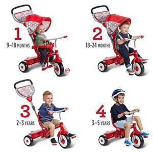 New Radio Flyer Ultimate 4-in-1 Stroll 'N Trike Ride On.