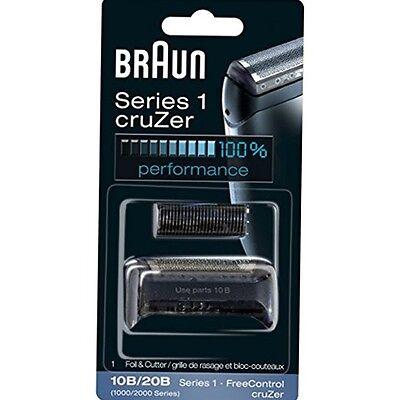 Braun 10B/20B Replacement Foil and Cutter Blades Shaver 190 190s-1, 190s, 1775 Braun Shaver Replacement Foil