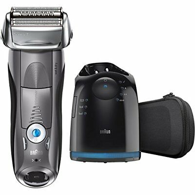 New Braun Electric Shaver Series 7 790cc Men's Lamina Razor Clean Charge cordless