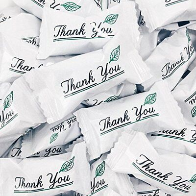 Thank You Buttermints - Approx. 105 Mints - Individually Wrapped - Soft - Individually Wrapped Buttermints