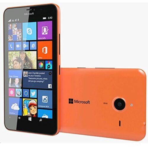 New Microsoft Lumia 640XL Orange 8GB 13MP 4G LTE Windows Unlocked Smartphone