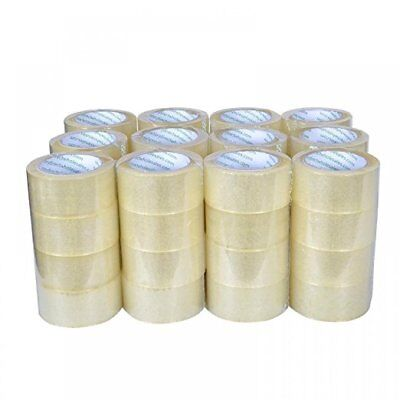 Tape Clear Packaging Shipping Tape Pack Of 36 2-inches X 110 Yds