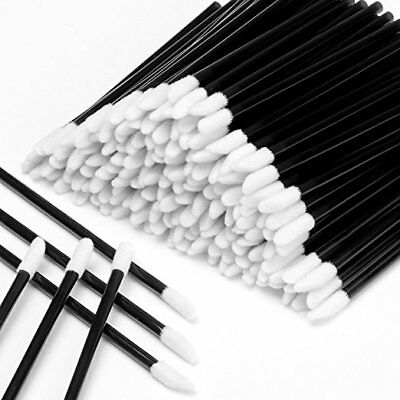 (50/100/150 Pcs Disposable Lip Brush Gloss Wands Applicator Makeup Cosmetic Tool )