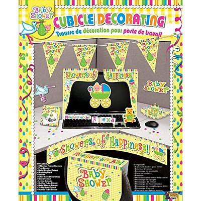 Baby Shower Decorating Kit for Work Desk or Cubicle 72815 Forum Novelties - Desk Decorations For Work
