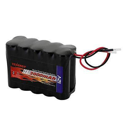 Tenergy 12V 2000mAh NiMH Battery Pack w/ Bare Leads DIY Rechargeable RC Battery 12v Nimh Rc Battery