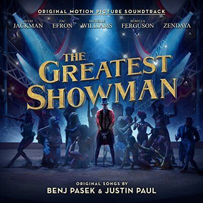 The Greatest Showman Cd   Original Motion Picture Soundtrack  2017    New
