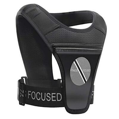 Running/Training Vest Cell Phone and Accessories Holder for a Versatile