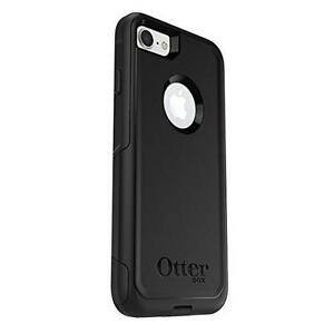 OtterBox COMMUTER SERIES Case for iPhone 7 - Frustration Free Packaging - BLACK ( New - Neuf )