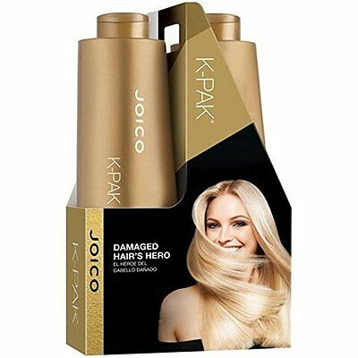 Joico K-Pak Shampoo and Conditioner Liter Duo Set, 33.8 oz