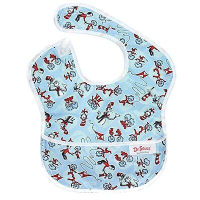 Bumkins Waterproof SuperBib, Seuss Cat in the Hat (6-24 Months)