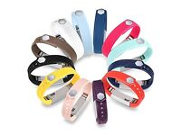 12 coloured Fitbit Alta Replacement Bands with clasps for Fitbit Alta Bracelet Sports Arm Band New