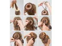 Hot bunz hair bun shaper hair styling tool hair doughnut bun maker
