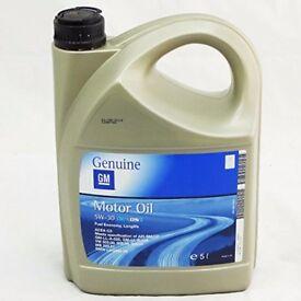 GM 5W30 5L Dexos II Fully Synthetic genuine GM