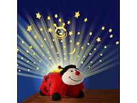 Pillow Pets Dream Lites - Ms. Ladybug