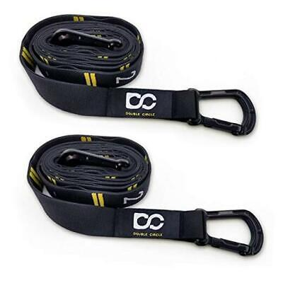 Double Circle Numbered Straps, Wood Gymnastic Rings, and Exe