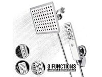 3 in 1 Multifunction Shower Head in White - New & Sealed