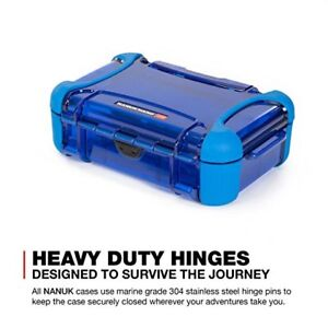 Nanuk 330 Nano Series Hard Case (Blue) New