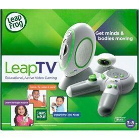 Leap Frog Leap TV and Four Games