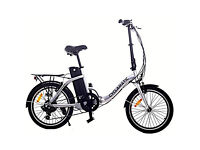 New Cyclamatic CX2 Bicycle Electric Foldaway Bike with Lithium-Ion Battery